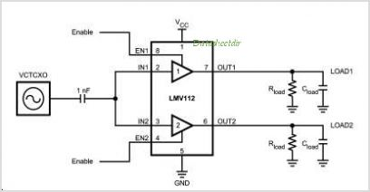 LMV112 circuits