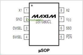 DS1080CL pinout,Pin out