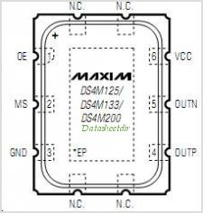 DS4M133 pinout,Pin out
