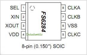FS6284 pinout,Pin out