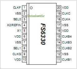 FS6330 pinout,Pin out