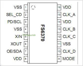 FS6370 pinout,Pin out