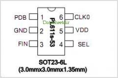 PL611S-53 pinout,Pin out