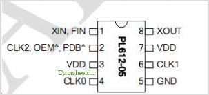 PL612-05 pinout,Pin out