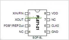 PL671-22 pinout,Pin out