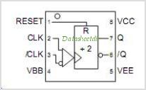 SY89312V pinout,Pin out