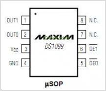 DS1099 pinout,Pin out