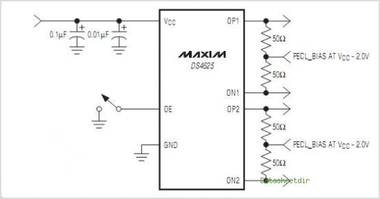 DS4625 circuits