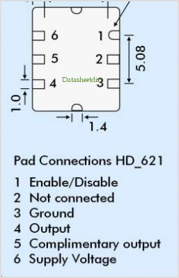 HDA62 pinout,Pin out