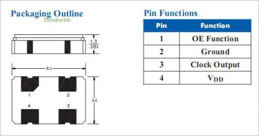 S1632 pinout,Pin out