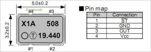 TCO-710X pinout,Pin out