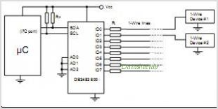 DS2482S-800 circuits
