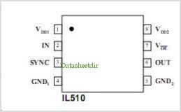 IL511-1ETR13 pinout,Pin out
