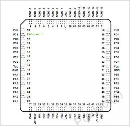 PSD411A1 pinout,Pin out