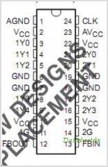 CDC2509A pinout,Pin out