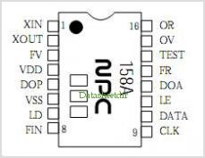 SM5158A pinout,Pin out