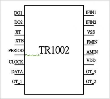TR1002 pinout,Pin out