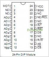 BQ3287A pinout,Pin out