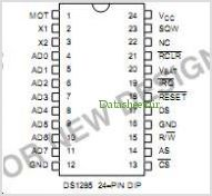 DS1285Q pinout,Pin out