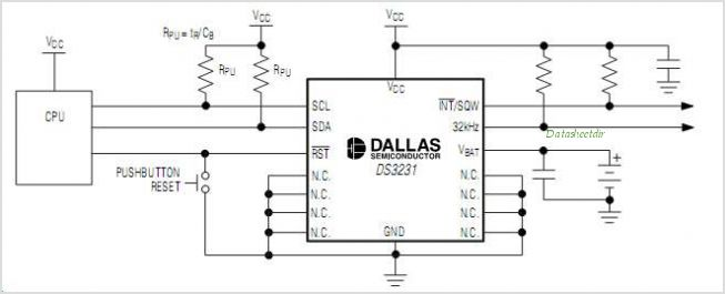 DS3231 circuits