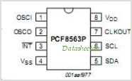 PCF8563 pinout,Pin out