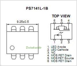 PS7141-1B pinout,Pin out