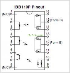 IBB110P pinout,Pin out