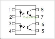 ISP817-1 pinout,Pin out