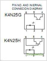 K4N25G pinout,Pin out