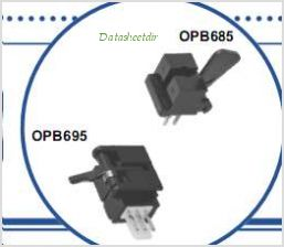 OPB685 pinout,Pin out