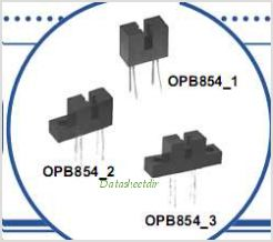 OPB854A1 pinout,Pin out