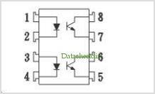 ISP817 pinout,Pin out