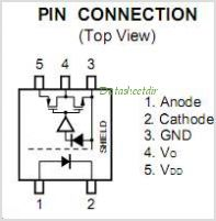 PS9151 pinout,Pin out