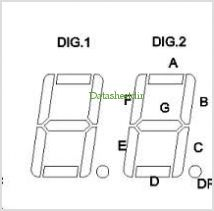 BL-D56A-23 pinout,Pin out