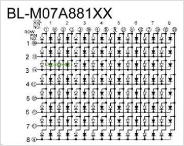 BL-M07A881XX pinout,Pin out