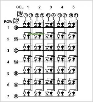 BL-M12C571XX pinout,Pin out