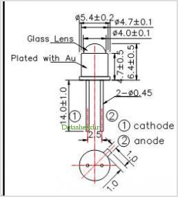 LED370-30M32 pinout,Pin out