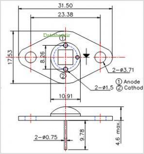 LED505-66-60 pinout,Pin out
