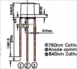 LED760-840-05A pinout,Pin out