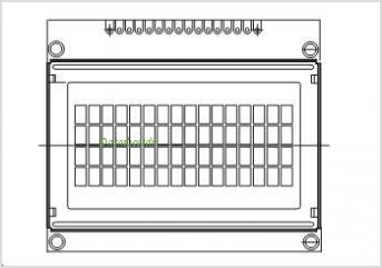 LCD-016M004B pinout,Pin out