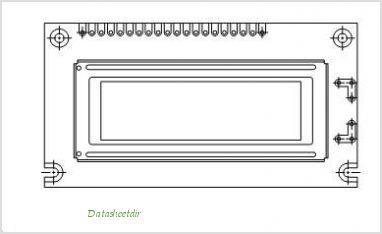 LCD-122G032D pinout,Pin out