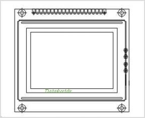 LCD-128G064C pinout,Pin out
