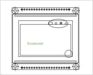 LCD-128G064E pinout,Pin out