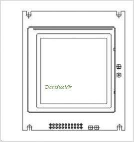 LCD-128G128A pinout,Pin out