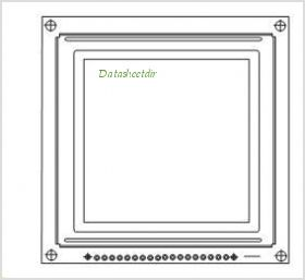 LCD-128G128B pinout,Pin out