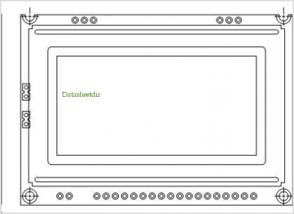 LCD-128H064S pinout,Pin out