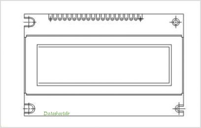 LCD-160G032A pinout,Pin out