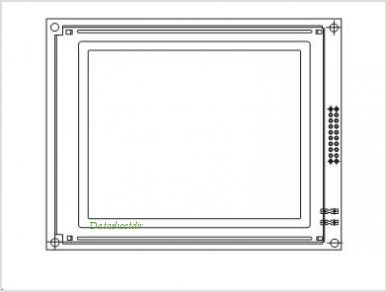 LCD-160G128B pinout,Pin out
