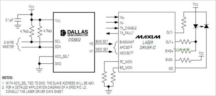 DS3902 circuits