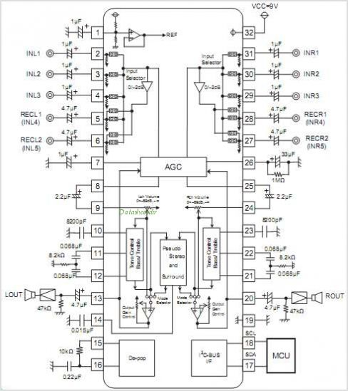 R2S15903SP circuits